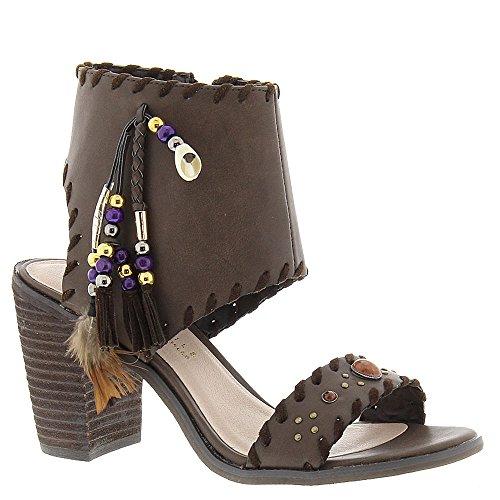 Brown Boho Heeled Very Volatile Sandal Women's nvgnzOWF