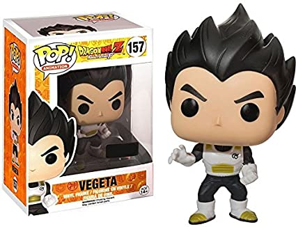 8af971b675a Image Unavailable. Image not available for. Color  POP Funko Dragonball Z  Vegeta  157 Exclusive Vinyl Figure