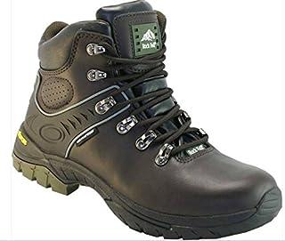 Rock Fall Marron Scafell Vibram Chaussures de marche à lacets imperméable randonnée