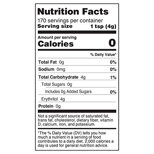 Purecane Sugar Substitute Baking Sweetener   Zero Calorie   Made from All Natural Sugar Cane   Diabetes-friendly   Keto-friendly   Gluten-free   24 Ounce Pouch 3