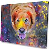 Shalysong Colorful dog mouse pad custom gaming mouse pad Personalized design cute funny dogs Size: 9.5