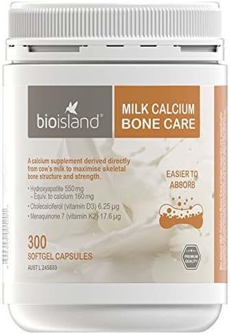 Bio Island Milk Calcium Bone Care 300 Softgel Capsules
