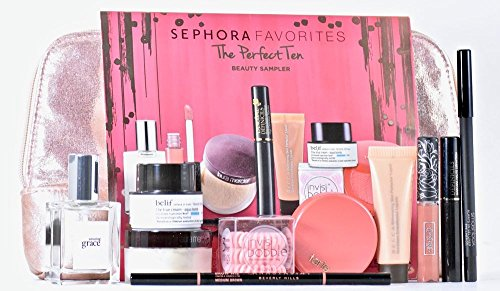 Sephora Favorites The Perfect Ten Makeup Sampler 10 pc Set ($149 (0.1 Ounce Edt Mini)