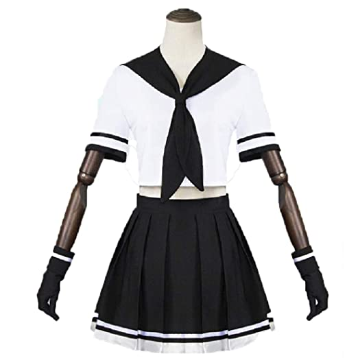 YKJ Traje de Cosplay de Anime Camisa Blanca Falda Traje de ...