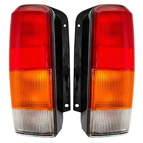 Jeep Cherokee Lamp Tail (Driver and Passenger Taillights Tail Lamps Replacement for Jeep SUV 4897399AA 4897398AA)