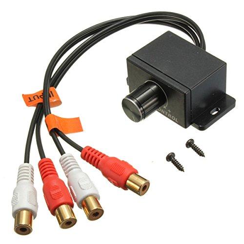 Pink Lizard Universal Car Audio Amplifier Bass RCA - Bass Control Knob Universal