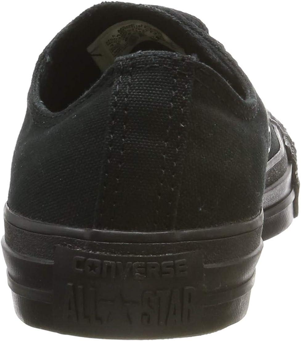 Converse Chuck Taylor All Star Glitter Argenté (Pure Silver) Synthétique Junior Formateurs Chaussures Black Monochrome