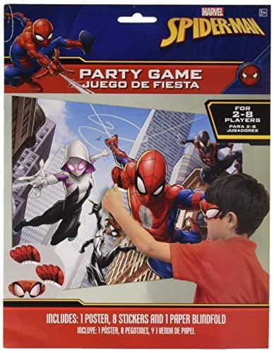 Amscan Spider-Man Webbed Wonder Party Game, Party Favor]()