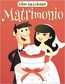 Libro Da Colorare Matrimonio