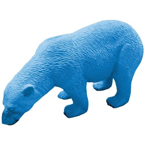 Kikkerland Endangered Species Polar Bear Eraser, Blue (ER10)