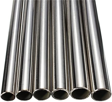 ChenXi Shop 2 Pieces OD 8.5mm x 8.1mm ID Stainless Pipe 304 Stainless Steel Capillary Tube Length 500mm