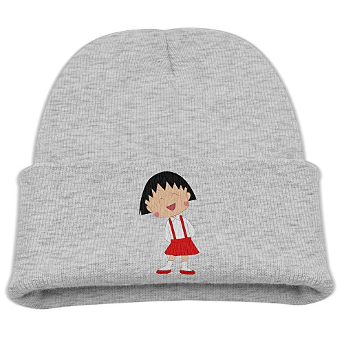 SHEAKA Chi-bi Maruko Baby's Knitted TourCaps Hats Ash For Autumn And Winter for $<!--$18.78-->