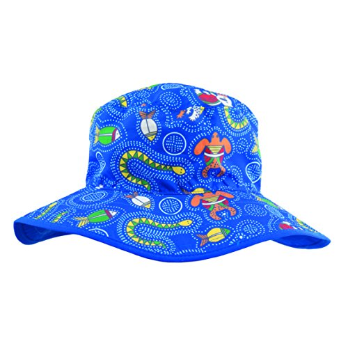 Baby Banz Baby Boys' Banz Reversible Hat, Coolgardie Blue, 0 2 Years