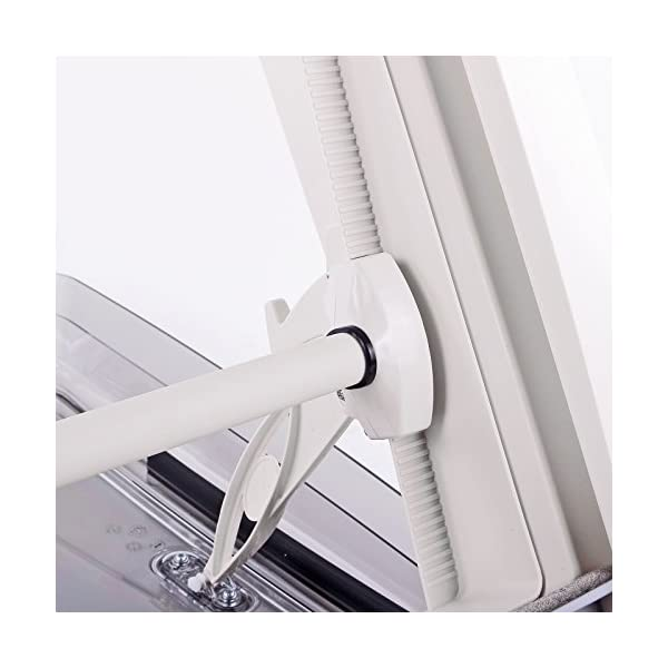 51 HZm2lZuL MPK Dachfenster Vision Star M pro klar 40x40 cm Dachstärke 25-60 mm 48P + Deklain Dichtmittel