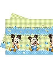 Disney Junior 71987 tafelkleed met Mickey Mouse, kunststof, 1,8 m x 1,2 m