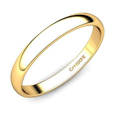 Buy Candere By Kalyan Jewellers 22KT Yellow Gold Ring for Women