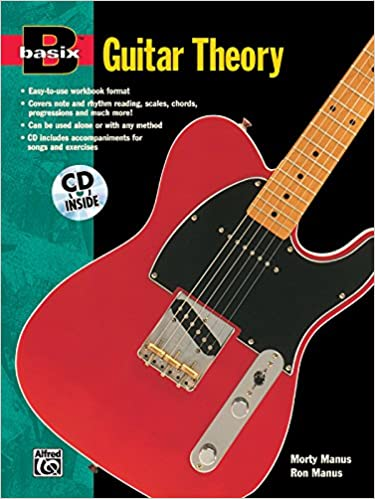 basix guitar theory book cd basixr series