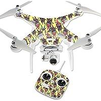 MightySkins Protective Vinyl Skin Decal for DJI Phantom 3 Standard Quadcopter Drone wrap cover sticker skins Electric Cicada