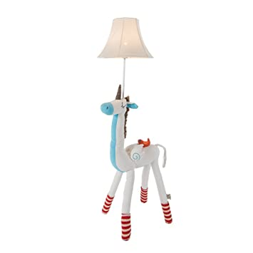Super Cute Animal Cotton Floor Lamp for Children, Giraffe /Unicorn /Alpaca/Well