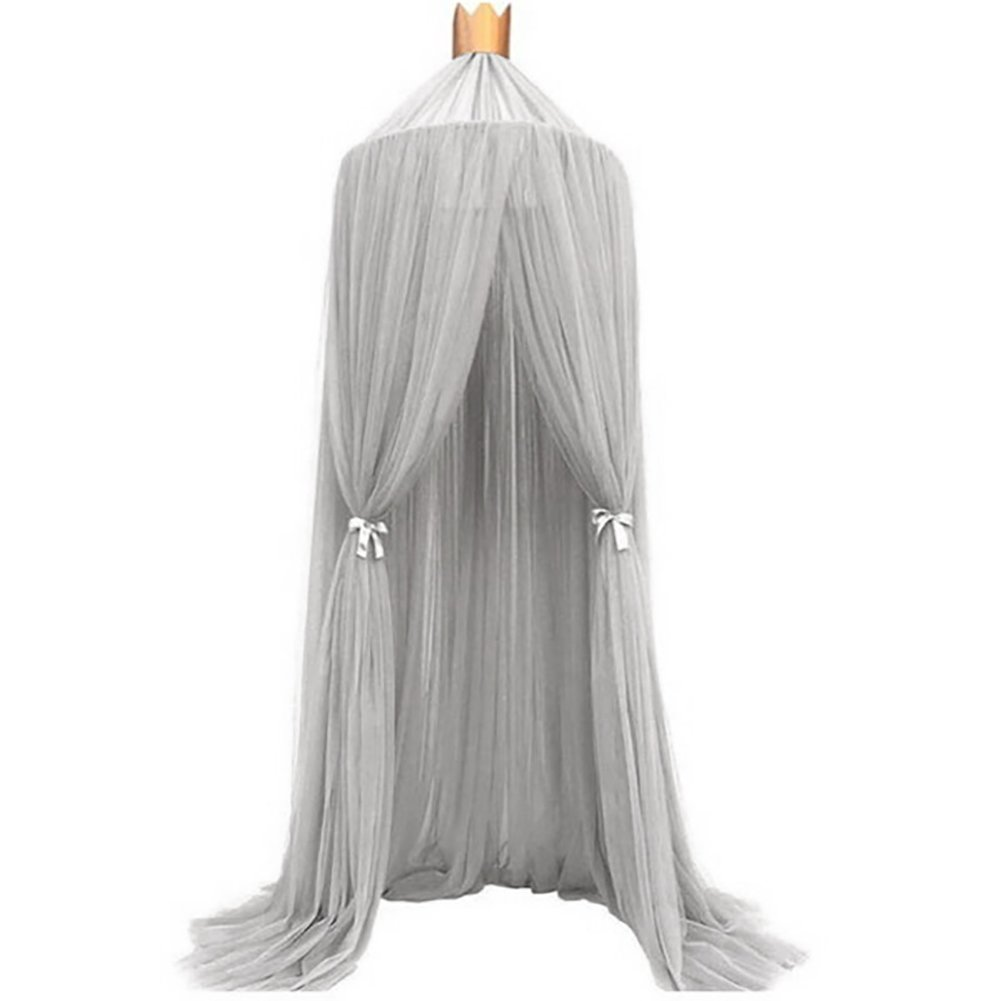 Mosquito Net Bed Canopy for Children Kids Indoor Playing, Yarn Dome Princess Play Tent Mosquito Netting for Baby Crib