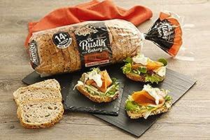 The Rustik Bakery - Barra masa madre, cereales y semillas, 400 g ...