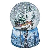 "Musical 6"" Winter Wonderland Glitterdome Water Globe (Train)"