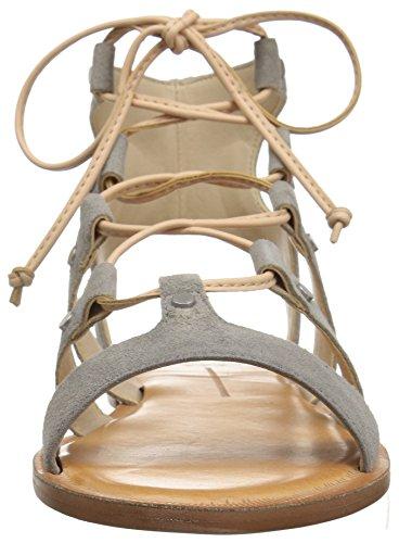 Dolce Vita Delle Donne Jasmyn Gladiatore Sandalo In Camoscio Grigio