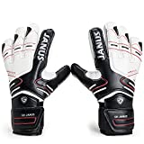 Valorsports Professional Fingersave Adult Kid Hand Palm Natural Latex Goalkeeper Gloves JA383