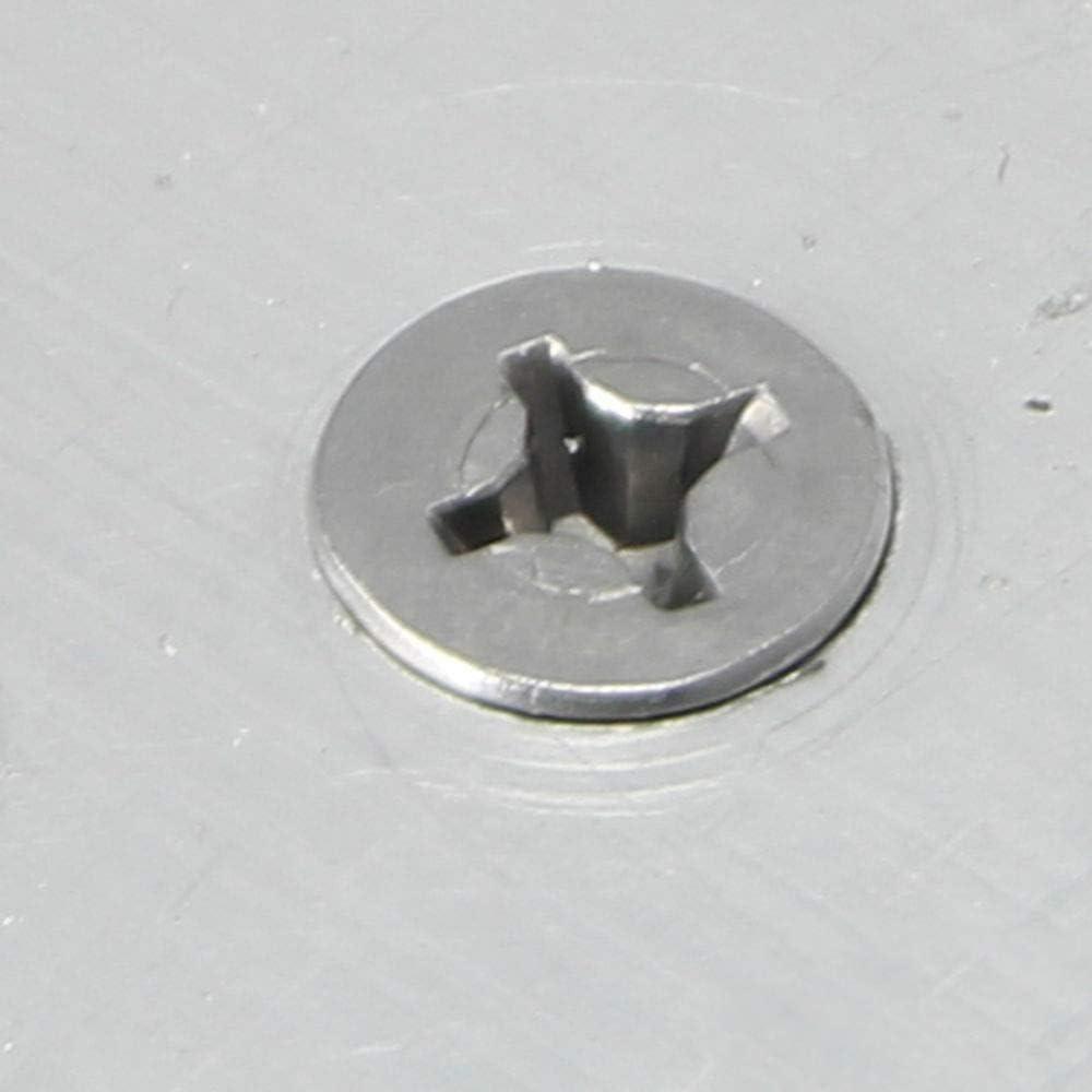self Tapping Screws for Metal Stainless Steel 100 Pcs self Tapping Metal Screws #10 x 1-1//2 Self Drilling Screws Flat Head Sheet Metal Screws