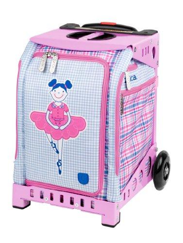 Zuca Mini Ballerina Insert Bag & Pink Frame + Pink Snack Pouch