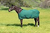 Kensington Products Egyptian Cotton Horse Stable Blanket - Lightweight Durable & Breathable Day Sheets (78, 106- Deluxe Hunter)