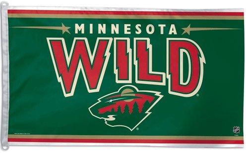 NHL Minnesota Wild 3-by-5 foot (Minnesota Wild Flag)