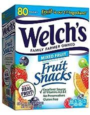 Welch's Mixed Fruit & Berries 'n Cherries Bulk Variety Pack, Mixed Fruit, Island Fruits & Berries 'n Cherries, 22 Count