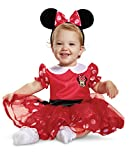 Disguise Red Minnie Mouse Infant Child Costume, Red, (6-12 Months)