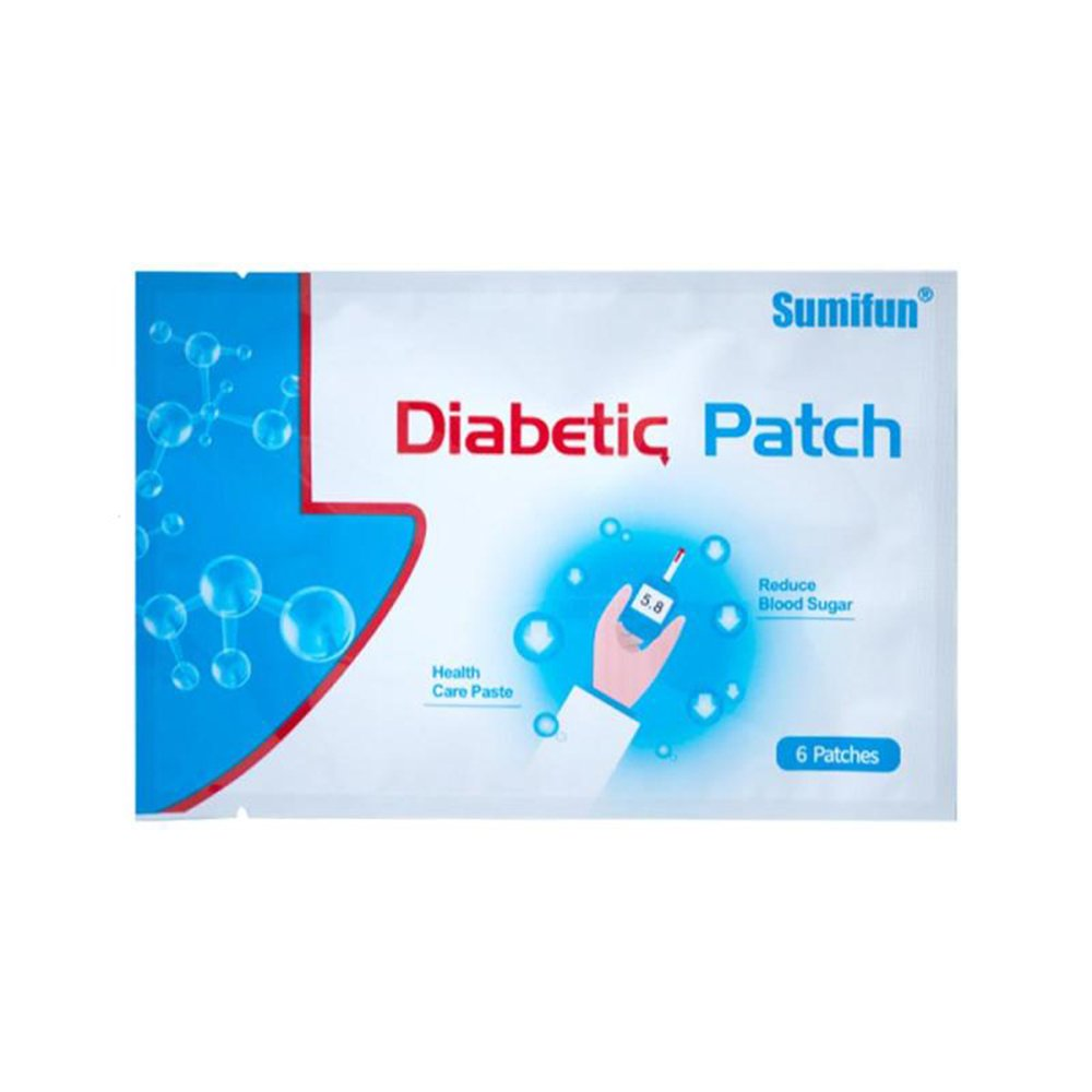 24pcs=4Bags Diabetes Patch Stabilizes Blood Sugar Level Balance Blood Glucose Patch Natural Herbs Diabetes Plaster by Sumifun (Image #2)