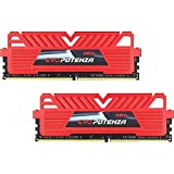 GeIL EVO POTENZA 16GB (2 x 8GB) 288-Pin DDR4 SDRAM DDR4 2400 (PC4 19200) Desktop Memory Model GPR416GB2400C16DC