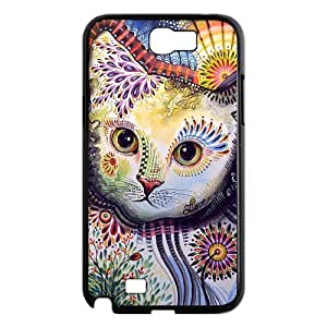 case Of Cat Customized Bumper Plastic Hard Case For Samsung Galaxy Note 2 N7100