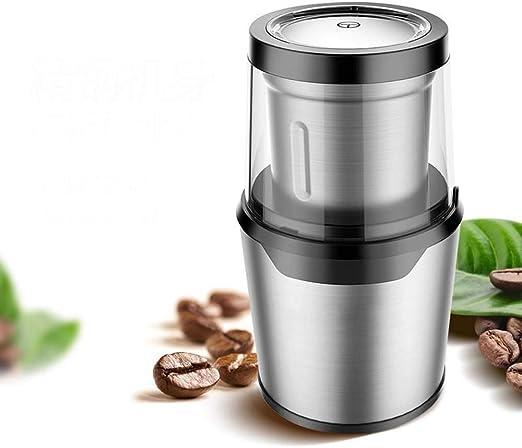 ZHQHYQHHX Cafetera Molinillo de Grano de café Molinillo eléctrico ...