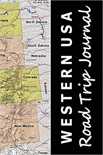 Western USA Road Trip Journal (Map-themed Travel Diaries ...