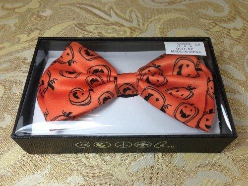Halloween Orange Pumpkin Classic BowTie Neckwear Adjustable ()