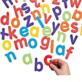 Bargain World Magnetic Letters - Lowercase Letter Set (With Sticky Notes)