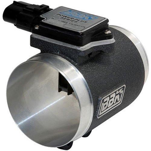 Engine Intake Air Flow Meter (BBK 8002 76mm Mass Air Flow Meter MAF Sensor Calibrated For 19 lb Injectors, Cold Air Kit Calibration for Ford Mustang 5.0L)