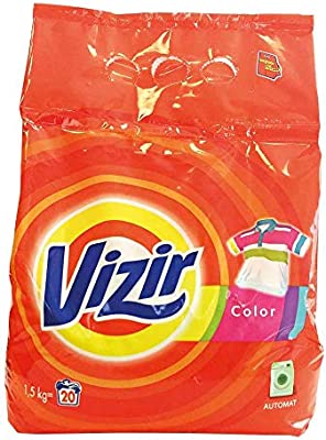 Vizir VIZIR-PR1-5BIA - Detergente en polvo (1,5 kg), color blanco: Amazon.es: Industria, empresas y ciencia