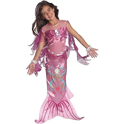 Toddler Pink Mermaid Costume - 2T-4T]()