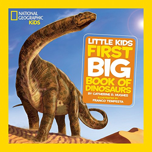 national geographic little kids first big book of dinosaurs 読書
