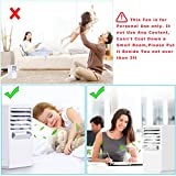 Citus 9.5-inch Portable Mini Air Conditioner Fan,Small Personal Desktop Cooling Fan for Nearby Use up to 3Ft,Air Circulator Cooler Misting Humidifier,Ideal Gift