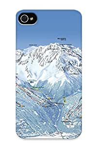 diy phone caseAwesome Case Cover/iphone 4/4s Defender Case Cover(mountains Nature Winter Snow Ski ) Gift For Christmasdiy phone case