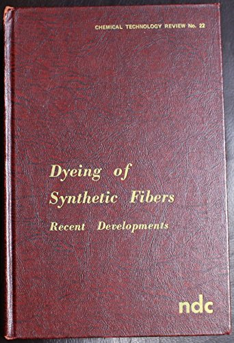 Dyeing of Synthetic Fibres: Recent Developments