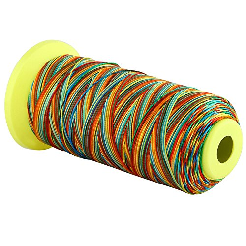 Navifoce Round Tower String Multicolor Braided Jewelry Cord Crafts Beading -