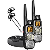 Uniden Weather Resistant 40-Mile 22-Channel FRS/GMRS Two-Way Radios with Glow Buttons and 2 Headsets - Grey (GMR4040-2CKHS)  (Discontinued by Manufacturer)